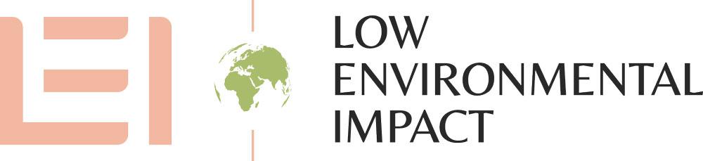 low environmental impact logo